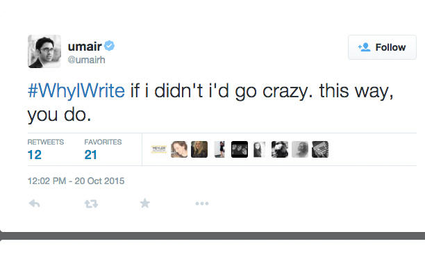 Writers share #WhyIWrite on Twitter for National Day on Writing