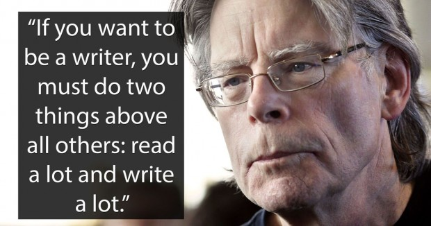 14 Stephen King quotes about the writing process